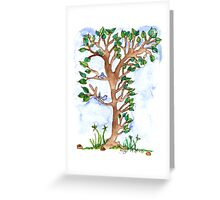 Tiny Tree Greeting Card