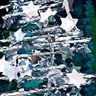 Silver Star Christmas Tree by Renee Hubbard Fine Art Photography