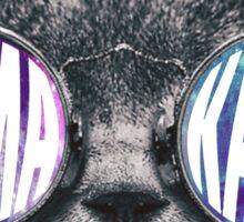 Sigma Kappa Cat Galaxy Sticker
