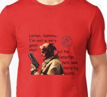 Hellboy's Gun, the Samaritan Unisex T-Shirt