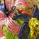 Vintage: Beaded Flowers by ArtistJD
