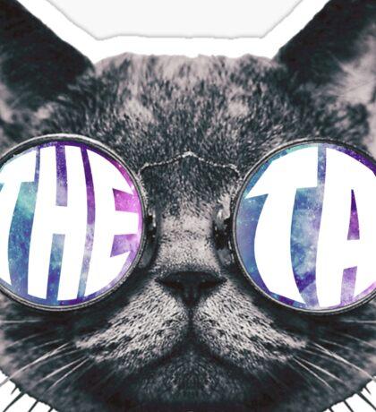 Theta Cat Galaxy Sticker