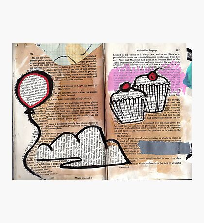 Altered Book 13.5 Photographic Print