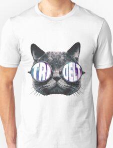 Tri Delta Cat Galaxy T-Shirt