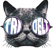 Tri Delta Cat Galaxy by trendysticks