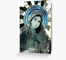 Photoshopped Madonna, Seattle Greeting Card