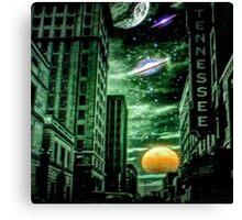 Alien Skies Canvas Print