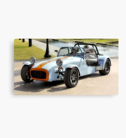 Lotus Super 7 Racing Car Canvas Print