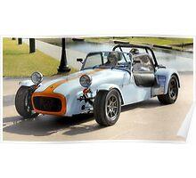 Lotus Super 7 Racing Car Poster