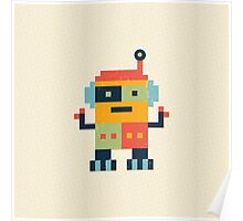 Happy Robot Poster