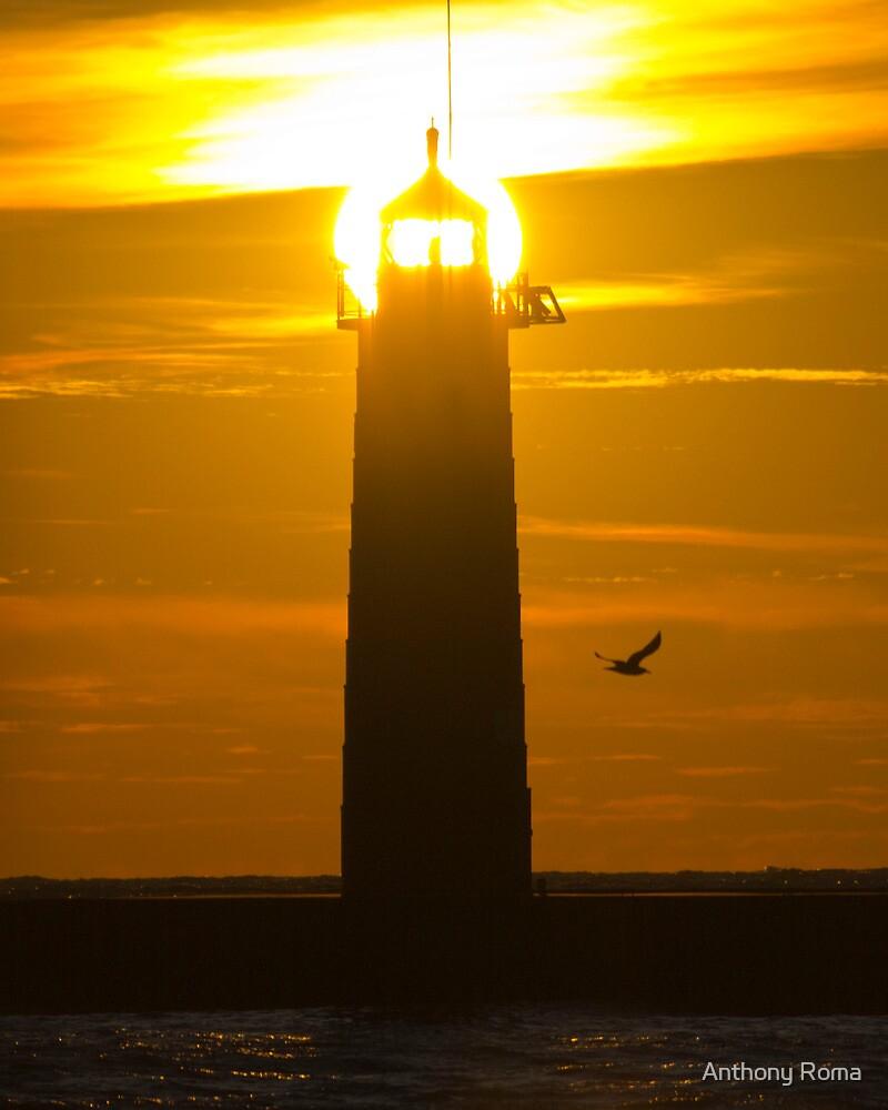 Sunrise Lighthouse by Anthony Roma
