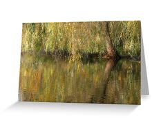 Weeping Reflection Greeting Card