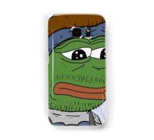Pepe smoke frog  Samsung Galaxy Case/Skin