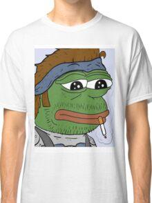 Pepe smoke frog  Classic T-Shirt