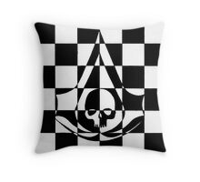Black Flag Throw Pillow