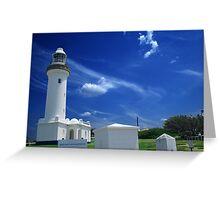 Norah Head Light House Greeting Card