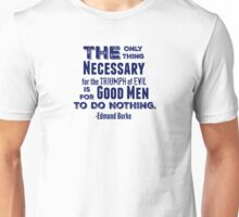 The Only Thing - Navy Unisex T-Shirt