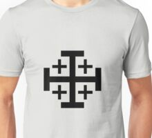 Jerusalem Cross Unisex T-Shirt