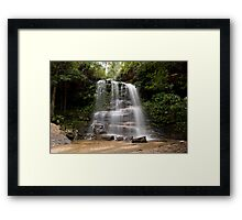 Federal Falls, Lawson, NSW, Australia Framed Print