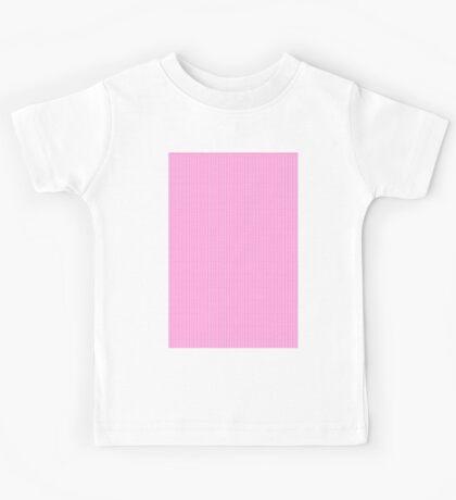 Polka Dots (pink) Kids Tee