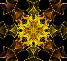 Golden Cross-over by Belinda Osgood