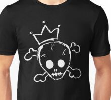 The King Is Dead- White Unisex T-Shirt