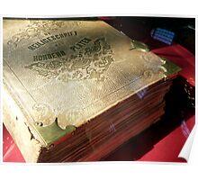 Antique Dutch Bible - Heilige Schrift Poster