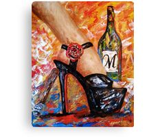 It's the weekend Canvas Print