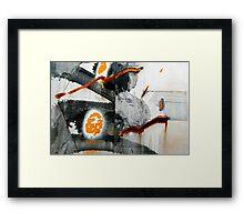Zig - Zag Framed Print