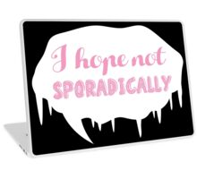 Sporadically 2 Laptop Skin