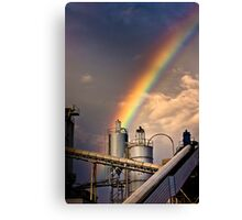 industrial rainbow Canvas Print