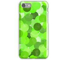 Shocked (green) iPhone Case/Skin