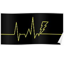 Electric Heartbeat Poster