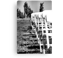 Rows to the Vines Canvas Print