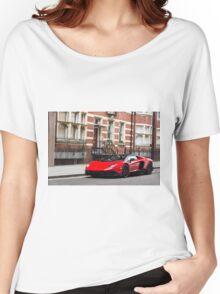 Lamborghini Aventador 50° Anniversario Roadster LP720-4 Women's Relaxed Fit T-Shirt
