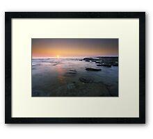 """Fire & Water"" ∞ Caloundra, QLD - Australia Framed Print"