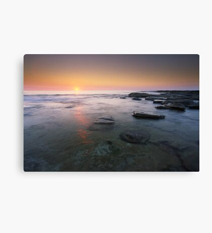 """Fire & Water"" ∞ Caloundra, QLD - Australia Canvas Print"