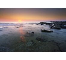 """Fire & Water"" ∞ Caloundra, QLD - Australia Photographic Print"