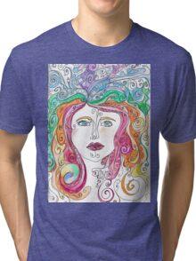 Hair goals Tri-blend T-Shirt