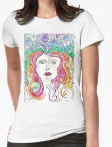 Hair goals Womens Fitted T-Shirt