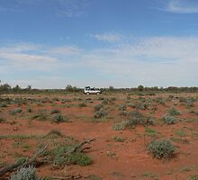 Car in the Aussie Outback by NSWCamper