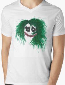 The Joker. Why so serious? Mens V-Neck T-Shirt