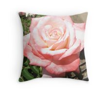 'Secret' Rose Throw Pillow