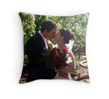 Sunkissed - Simon & Jen V Throw Pillow