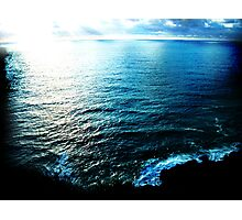 oceans are beautiful Photographic Print