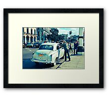 Streets Of Havana #2 Framed Print