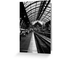 antwerp. central Greeting Card