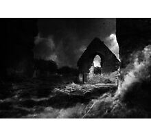 Abbey ruins - prints and stationery only Photographic Print