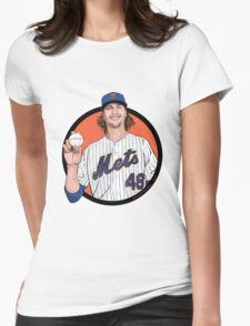 deGrom Womens Fitted T-Shirt