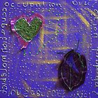 REDREAMING LEAF LOVE by WENDY BANDURSKI-MILLER